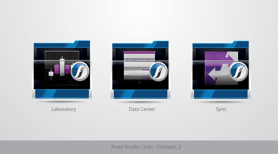 #202 for Application Icons for Forex Studio (Windows software) by TecImag