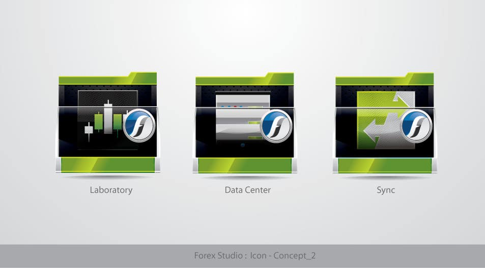 #197 for Application Icons for Forex Studio (Windows software) by TecImag