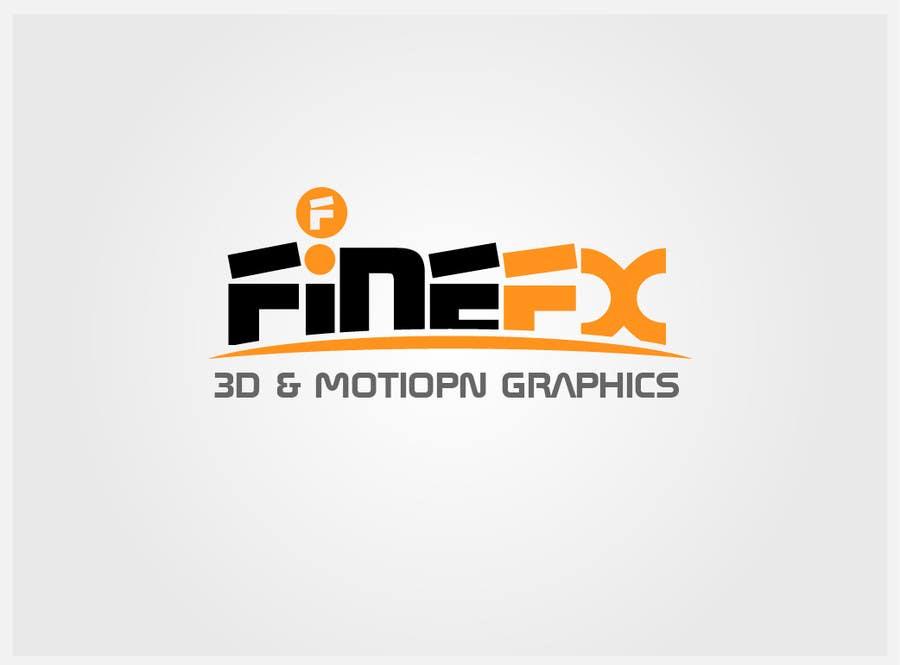 Bài tham dự cuộc thi #259 cho Logo Design for Fine FX | 3D & Motion Graphics
