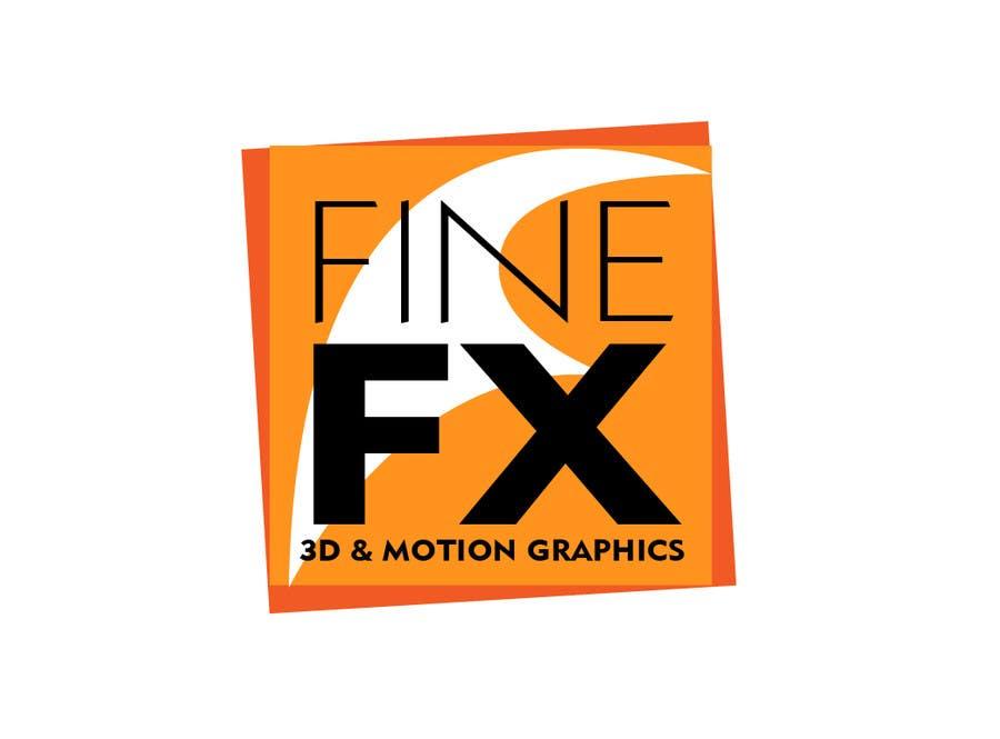 Bài tham dự cuộc thi #272 cho Logo Design for Fine FX | 3D & Motion Graphics