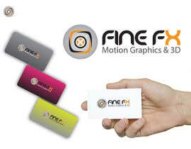 nº 136 pour Logo Design for Fine FX | 3D & Motion Graphics par udaya757