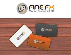 nº 143 pour Logo Design for Fine FX | 3D & Motion Graphics par udaya757