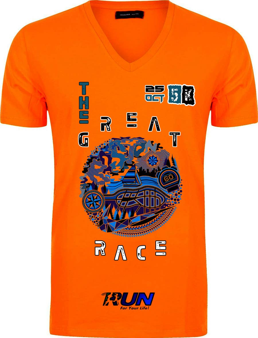 Entry 40 By Gpaone For Design A T Shirt For 5k Race Freelancer