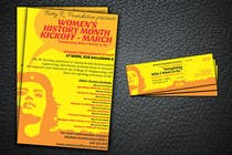 Graphic Design Конкурсная работа №5 для Graphic Design for TicketPrinting.com WOMEN'S HISTORY MONTH POSTER & EVENT TICKET