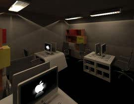 Nro 10 kilpailuun High Quality Architecture 3D of an office for furniter and builtin contruction käyttäjältä cellox07