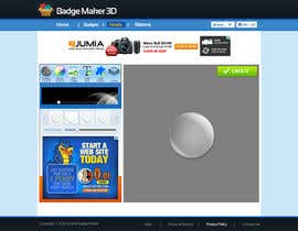 #1 for Graphic Design for http://www.onlinebadgemaker.com/3d-badge-maker/ by AmrZekas