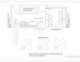 #1 para Diseño de interior de establicimiento de comida rapida latina de gortiz057
