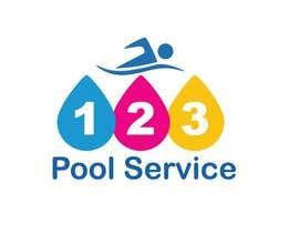 #193 para Pool Service 123 Logo de AbdelrahimAli