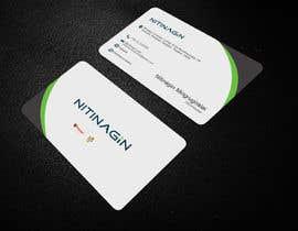 #23 para Design some Business Cards for Nitinagin de swaponkumarmz02