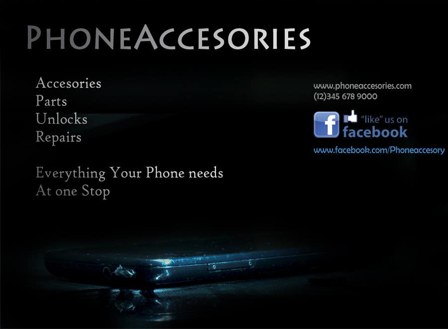 Contest Entry #18 for Banner Ad Design for Phone accessory and Parts