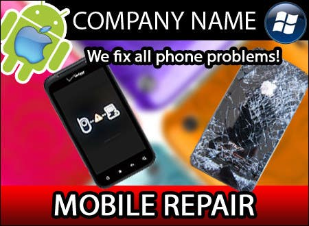 Contest Entry #23 for Banner Ad Design for Phone accessory and Parts