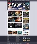 Contest Entry #43 for Website Design for eMovie - Online Movie Streaming
