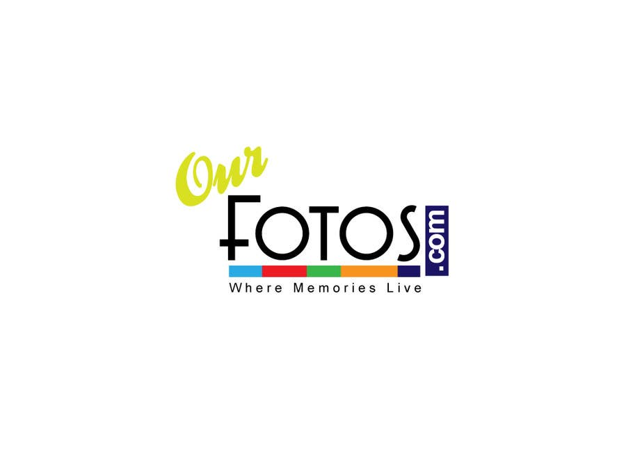 Inscrição nº                                         125                                      do Concurso para                                         Logo Design for OurFotos.com - where memories live.