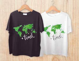 nº 33 pour Travel T-Shirt Design par marielisaperezl