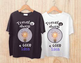 nº 34 pour Travel T-Shirt Design par marielisaperezl