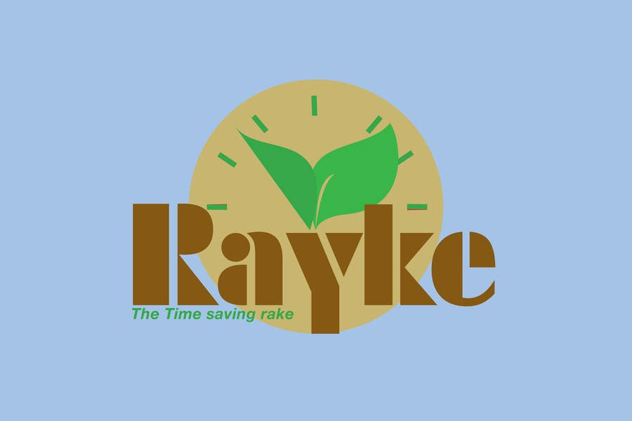 #99 for Graphic Design for Rayke - The Time saving rake by stanbaker