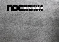 "Graphic Design Intrarea #88 pentru concursul ""Logo Design for Newcastle Designer Concrete"""