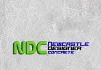 "Graphic Design Intrarea #120 pentru concursul ""Logo Design for Newcastle Designer Concrete"""