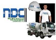 "Graphic Design Intrarea #140 pentru concursul ""Logo Design for Newcastle Designer Concrete"""