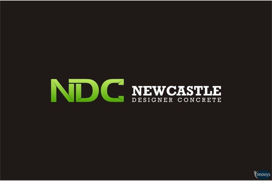 """Intrarea #296 pentru concursul """"Logo Design for Newcastle Designer Concrete"""""""