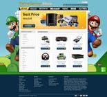Graphic Design Inscrição do Concurso Nº25 para Website Design for RetroGaming Shop on Magento