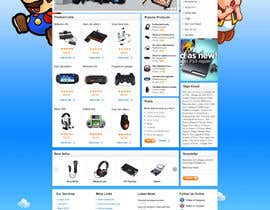 nº 21 pour Website Design for RetroGaming Shop on Magento par dragnoir