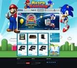 Graphic Design Inscrição do Concurso Nº24 para Website Design for RetroGaming Shop on Magento