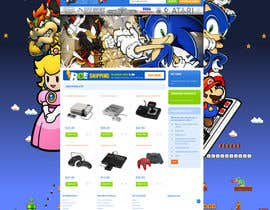 #26 for Website Design for RetroGaming Shop on Magento af impact27