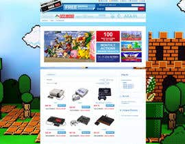 #9 para Website Design for RetroGaming Shop on Magento por impact27