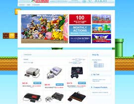 nº 4 pour Website Design for RetroGaming Shop on Magento par impact27