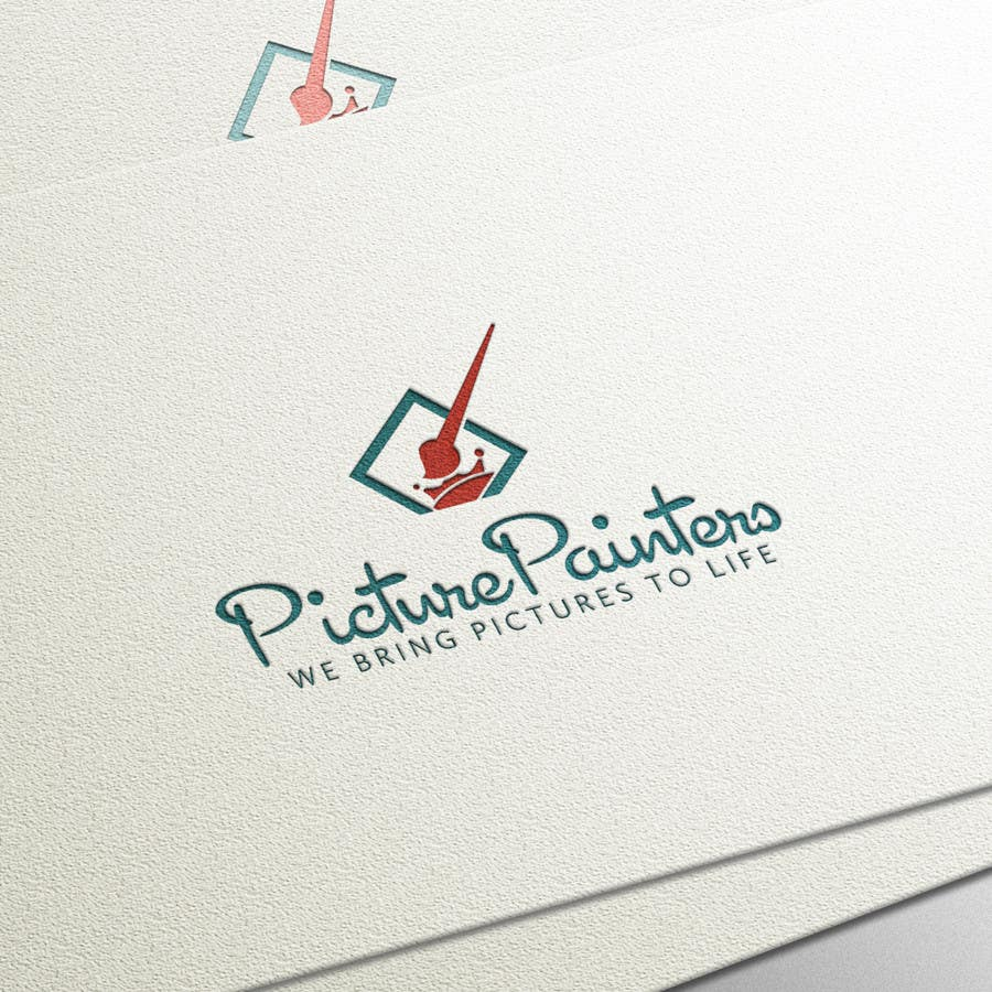 Proposition n°                                        98                                      du concours                                         Design a typographic style Logo for custom art company