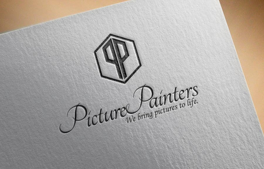 Proposition n°                                        53                                      du concours                                         Design a typographic style Logo for custom art company