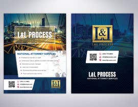 #60 for Flyer Design for legal services company - front and back A6 by MrDesi9n