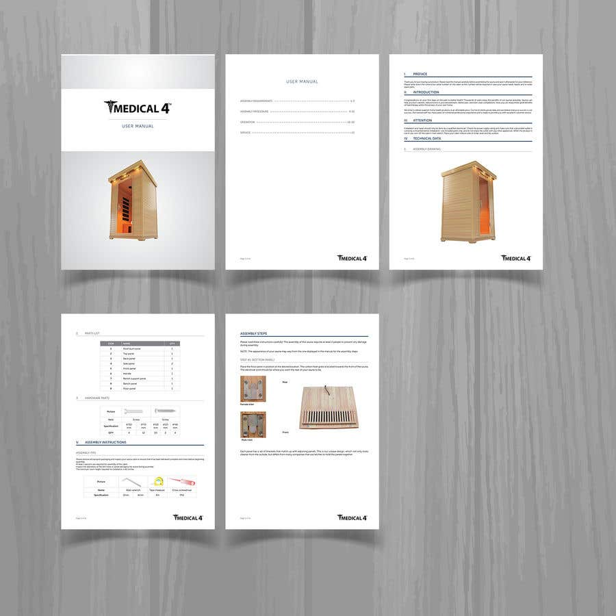 entry 2 by creativetrends for design a pdf user manual easy work