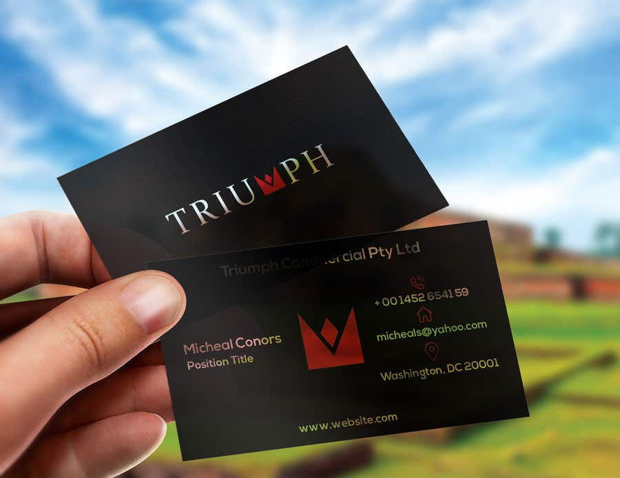 Contest Entry #328 for Design some Business Cards