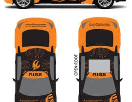 nº 39 pour Car Wrap Design for RISE Technology Solutions par MishAMan