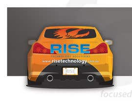 #26 for Car Wrap Design for RISE Technology Solutions af focused