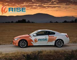 #53 untuk Car Wrap Design for RISE Technology Solutions oleh mfbdeip