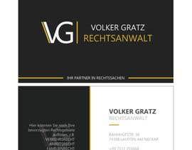 #9 cho logo, visitenkarte, briefbogen, flyer, screendesign für einen anwalt bởi tinyturtle