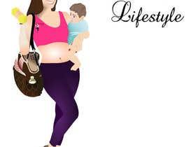Nro 31 kilpailuun Design a Logo for Fitness Mom Lifestyle käyttäjältä rogdesigns