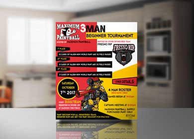 Image of                             Design a flyer for a tournament
