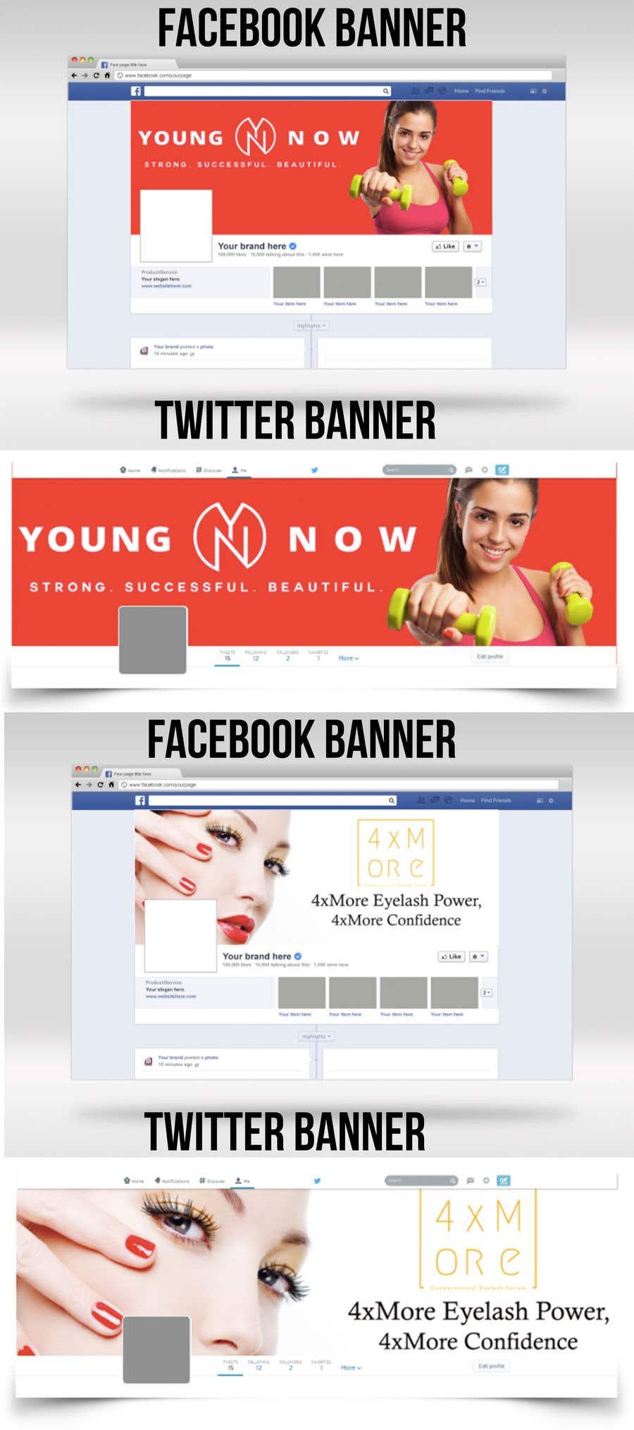 Конкурсная заявка №5 для Design a few Banners for health and beauty products