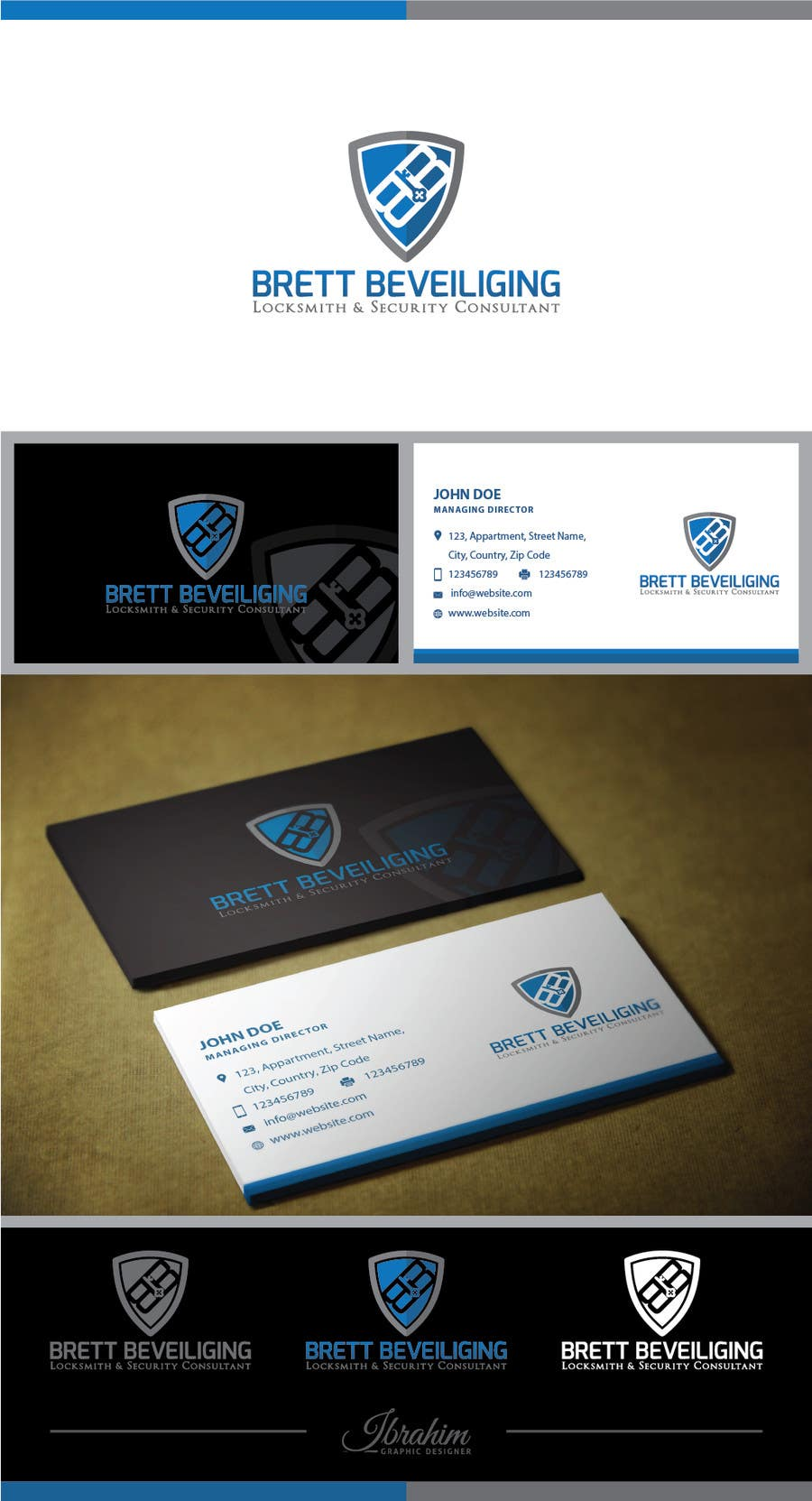 Entry #269 by Ibrahimmotorwala for Design a Logo for locksmith ...