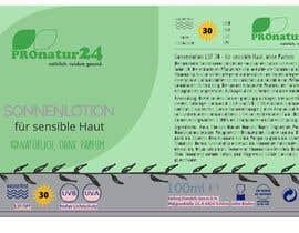 Nro 1 kilpailuun Erstellung bzw. Adaptierung 2x Etikett für Sonnencreme käyttäjältä pamorgos