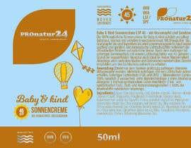 Nro 21 kilpailuun Erstellung bzw. Adaptierung 2x Etikett für Sonnencreme käyttäjältä griffindesing