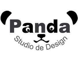#26 para Logotipo da Panda Studio de Design por AbdelrahimAli