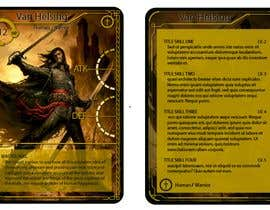 top entries design a template for a fantasy card game freelancer