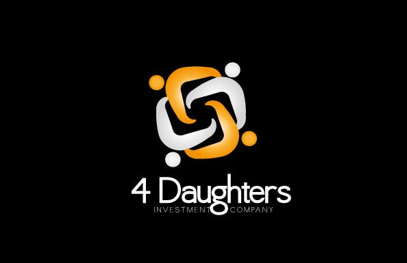 #534 for Logo Design for 4 Daughters (Four Daughters Ltd) and typeface by vinayvijayan