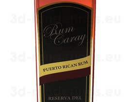 #3 para Do some 3D Modelling for a rum bottle por RenderingsUK