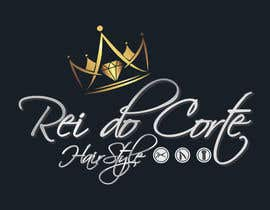 #21 for Logotipo Rei do Corte - Hairstyle by AbdelrahimAli